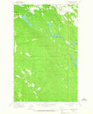 Download a high-resolution, GPS-compatible USGS topo map for Eureka South, MT (1966 edition)