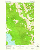 Download a high-resolution, GPS-compatible USGS topo map for Felix Peak, MT (1960 edition)