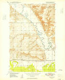 Download a high-resolution, GPS-compatible USGS topo map for Fort Kipp, MT (1949 edition)