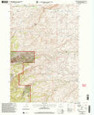 Download a high-resolution, GPS-compatible USGS topo map for Gobblers Knob, MT (2005 edition)