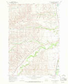 Download a high-resolution, GPS-compatible USGS topo map for Good Luck Creek, MT (1971 edition)
