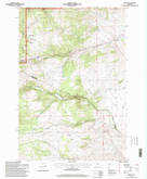 Download a high-resolution, GPS-compatible USGS topo map for Grace, MT (1998 edition)