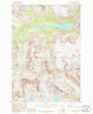 Download a high-resolution, GPS-compatible USGS topo map for Granite Peak, MT (1986 edition)