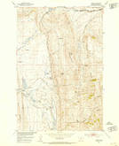Download a high-resolution, GPS-compatible USGS topo map for Hamen, MT (1953 edition)