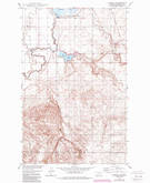 Download a high-resolution, GPS-compatible USGS topo map for Johnson Lake, MT (1989 edition)