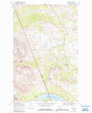 Download a high-resolution, GPS-compatible USGS topo map for Kiowa, MT (1991 edition)
