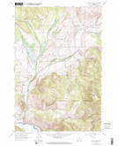 Download a high-resolution, GPS-compatible USGS topo map for Lincoln Gulch, MT (1974 edition)