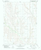 Download a high-resolution, GPS-compatible USGS topo map for Burger Canyon West, NE (1977 edition)