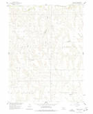Download a high-resolution, GPS-compatible USGS topo map for Curtis SE, NE (1977 edition)
