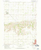 Download a high-resolution, GPS-compatible USGS topo map for David City West, NE (1971 edition)