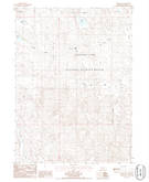Download a high-resolution, GPS-compatible USGS topo map for Deer Lake, NE (1986 edition)
