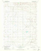 Download a high-resolution, GPS-compatible USGS topo map for Elm Creek SE, NE (1972 edition)