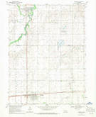 Download a high-resolution, GPS-compatible USGS topo map for Fairmont, NE (1971 edition)