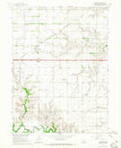 Download a high-resolution, GPS-compatible USGS topo map for Goehner, NE (1965 edition)