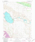 Download a high-resolution, GPS-compatible USGS topo map for Johnson Lake, NE (1984 edition)