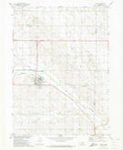 Download a high-resolution, GPS-compatible USGS topo map for Laurel, NE (1973 edition)