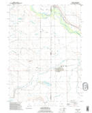 Download a high-resolution, GPS-compatible USGS topo map for Lyman, NE (1995 edition)