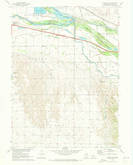 Download a high-resolution, GPS-compatible USGS topo map for Maxwell SW, NE (1973 edition)