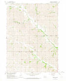 Download a high-resolution, GPS-compatible USGS topo map for Pender NE, NE (1968 edition)