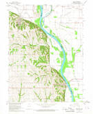 Download a high-resolution, GPS-compatible USGS topo map for Peru, NE (1968 edition)