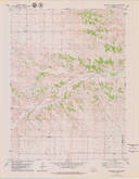 Download a high-resolution, GPS-compatible USGS topo map for Singleton Ranch, NE (1979 edition)