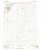 Download a high-resolution, GPS-compatible USGS topo map for Sutton, NE (1971 edition)