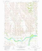 Download a high-resolution, GPS-compatible USGS topo map for Wolbach SW, NE (1978 edition)