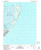 Download a high-resolution, GPS-compatible USGS topo map for Brigantine Inlet, NJ (1998 edition)
