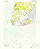 Download a high-resolution, GPS-compatible USGS topo map for Cape May, NJ (1956 edition)