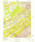 Download a high-resolution, GPS-compatible USGS topo map for Chatham, NJ (1957 edition)