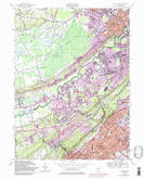 Download a high-resolution, GPS-compatible USGS topo map for Chatham, NJ (1986 edition)
