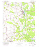 Download a high-resolution, GPS-compatible USGS topo map for Elmer, NJ (1972 edition)