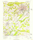 Download a high-resolution, GPS-compatible USGS topo map for Princeton, NJ (1956 edition)