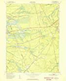 Download a high-resolution, GPS-compatible USGS topo map for Whiting, NJ (1951 edition)