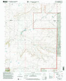 Download a high-resolution, GPS-compatible USGS topo map for Abbott Lake, NM (2001 edition)
