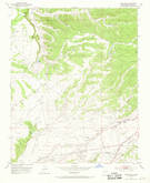 Download a high-resolution, GPS-compatible USGS topo map for Agua Fria, NM (1969 edition)
