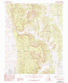 Download a high-resolution, GPS-compatible USGS topo map for Apache Mesa, NM (1983 edition)