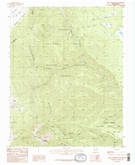 Download a high-resolution, GPS-compatible USGS topo map for Baldy Mountain, NM (1987 edition)
