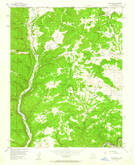 Download a high-resolution, GPS-compatible USGS topo map for Burnt Mesa, NM (1963 edition)