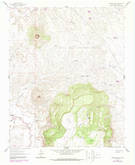 Download a high-resolution, GPS-compatible USGS topo map for Cabezon Peak, NM (1989 edition)
