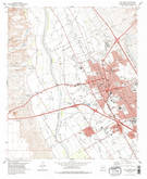 Download a high-resolution, GPS-compatible USGS topo map for Las Cruces, NM (1978 edition)