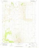 Download a high-resolution, GPS-compatible USGS topo map for Mesa Larga, NM (1974 edition)