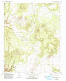 Download a high-resolution, GPS-compatible USGS topo map for Montoso Peak, NM (1993 edition)
