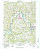 Download a high-resolution, GPS-compatible USGS topo map for Beverly, OH (1998 edition)