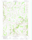 Download a high-resolution, GPS-compatible USGS topo map for Brighton, OH (1974 edition)