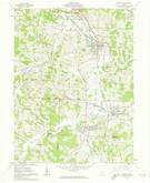 Download a high-resolution, GPS-compatible USGS topo map for Byesville, OH (1974 edition)