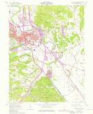 Download a high-resolution, GPS-compatible USGS topo map for Chillicothe East, OH (1976 edition)