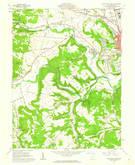 Download a high-resolution, GPS-compatible USGS topo map for Chillicothe West, OH (1962 edition)