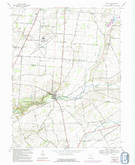 Download a high-resolution, GPS-compatible USGS topo map for Clifton, OH (1992 edition)