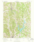 Download a high-resolution, GPS-compatible USGS topo map for Corning, OH (1971 edition)
